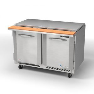 Chef Base Prep Tables Victory Refrigeration - Sandwich prep table cooler