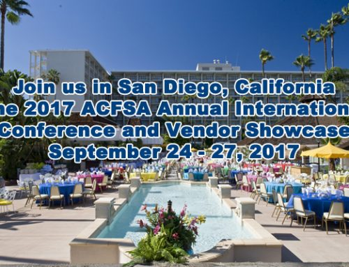 2017 ACFSA Annual International Conference and Vendor Showcase