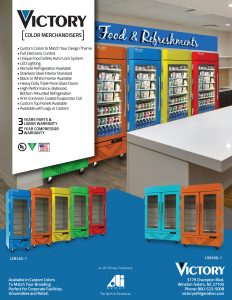 Victory color merchandisers